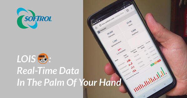 LOIS provides real-time data in the palm of your hand