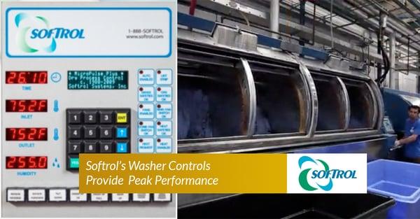 Softrol's Washer controls Provide Peak Performance